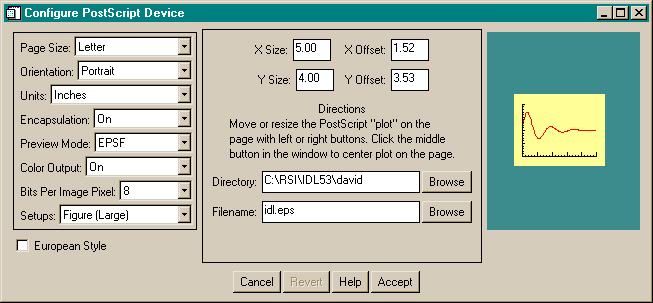 The FSC_PSConfig graphical user interface for gathering user input.