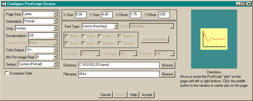 The FSC_PSConfig graphical user interface with the font information displayed.