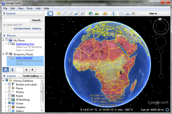 Coyote Graphics Map Projection Programs